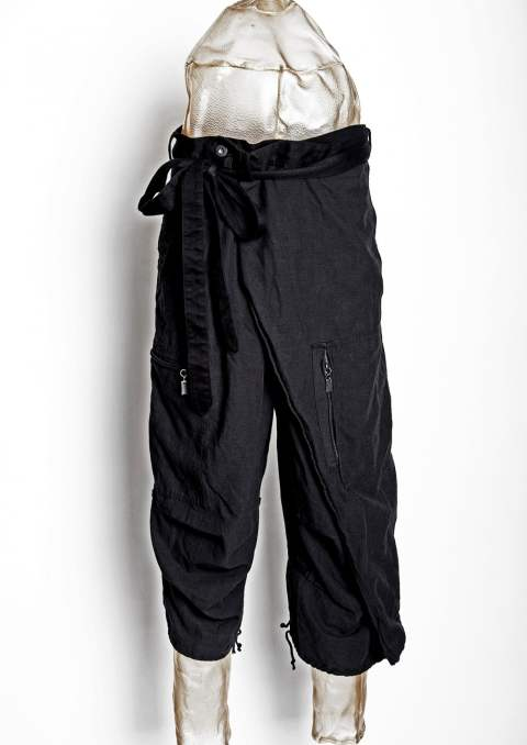 BOT-CLT / FISHERMAN CROPPED PANTS(BLACK,KHAKI)
