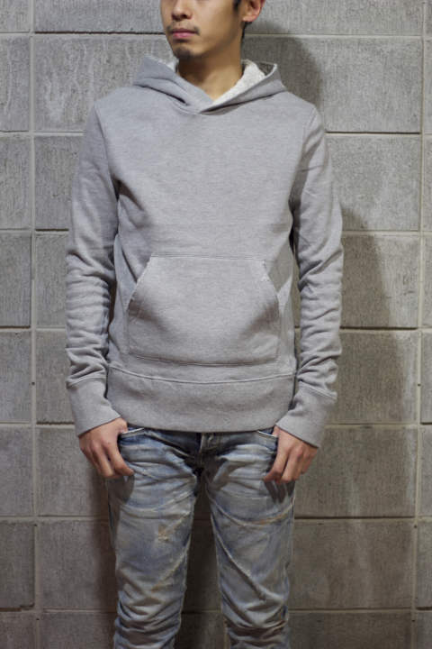 THE SURF HOODIE (TOP GRAY)