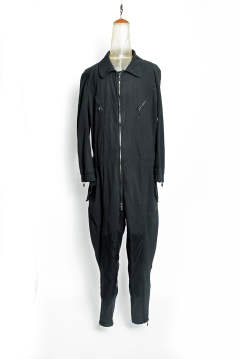 JODHPURS FLIGHT SUIT / BLACK