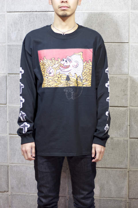 "Katsufumi Tkaihana LONG T-SHIRT""HAPPY"""