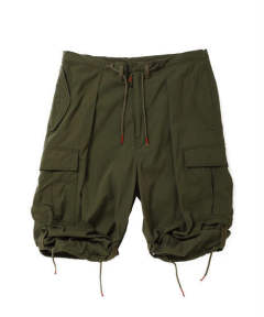 BDU DROP CROTCH TROUSERS c/#2 KHAKI